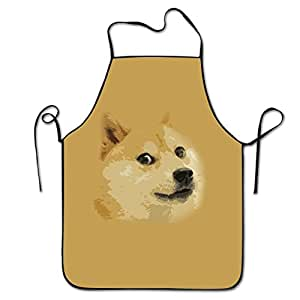 Shiba Inu Restaurant Home Kitchen Kitchen Cooking Apron For Women And Men, Apron Bib For Cooking, Grill And Baking, Crafting, Gardening - Adjustable Neck Strap