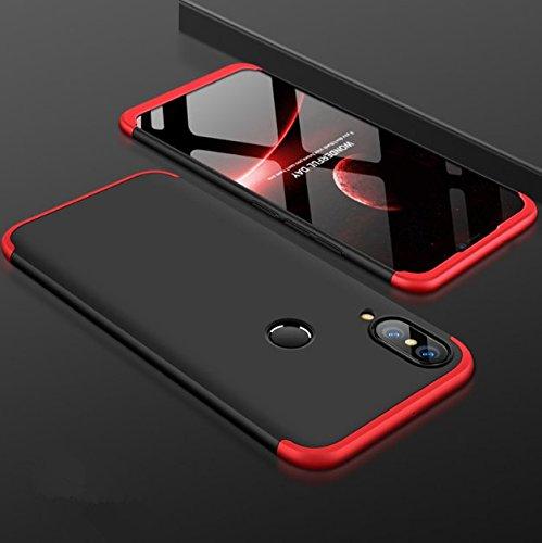 Anti 3e Bleu Nova Choc Telephone Rigide Nova 3e Etui Anti Noir 360 Scratch Rose PC 1 Rouge Intgrale Housse 3 en Huawei Ultra Mince Coque rouge Noir Or pour Case Protection qwE1x6OWf