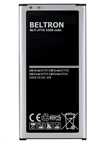 New 3300 mAh BELTRON Replacement Battery for Samsung J7 (2017), J7 Perx, J7 Sky Pro, J710, J727 - ()