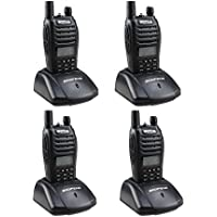 Baofeng dualband UV-B6 Two way radio 136-174/400-470mHZ UVB6 BF-B6(Pack of 4)