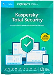 Total Security - 3 Dispositivos, Kaspersky, KL1949K5CFS