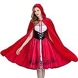 AQTOPS Women Woodland Red Riding Hood Costumes
