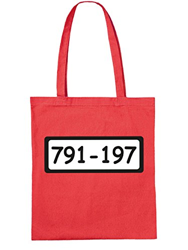 Tote Bag Clothinx Knasti Red Sale L
