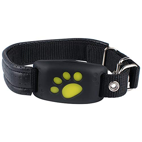Petsafe Manual Wireless Fence (Xelparuc Pet GPS Tracker Device Collar & Activity Monitor Cats Dogs, Waterproof Anti Lost Global Monitor Tracker Collar Realtime GPS Tracking Locator Online (SIM Card not Include))
