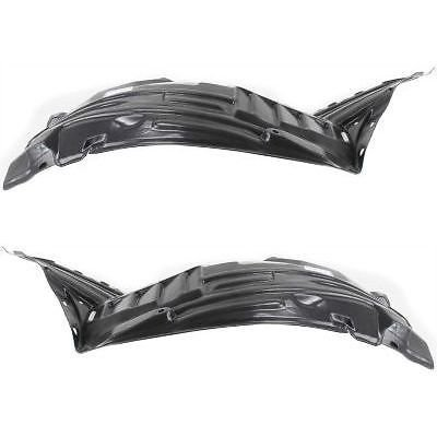 Make Auto Parts Manufacturing - Set of 2 Front Right & Left Side Splash Shields Liner For Nissan 350Z 03-05 - NI1251130-NI1250130 ()
