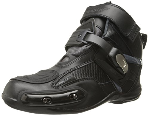 61586d4c275 Joe Rocket Atomic Men's Motorcycle Riding Boots/Shoes (Black/Grey, Size 9)