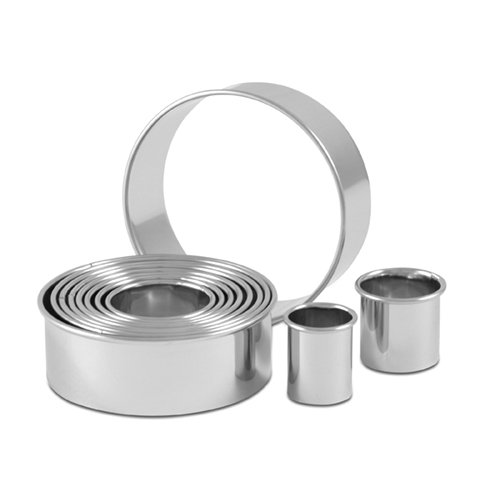 CIA Masters Collection 11 Piece Round Cutter Set