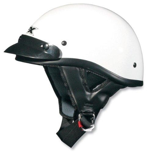 - AFX FX-70 Unisex-Adult Half-Size-Helmet-Style Beanie Helmet (White, XX-Large)