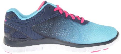 Skechers Flex Appealstyle Icon, basses femme Bleu (Nvbl)