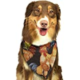 FRTSFLEE Dog Bandana Cock Scarves Accessories Decoration for Pet Cats and Puppies