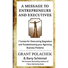 [ A Message to Entrepreneurs and Executives: 7 Lenses for Overcoming Stagnation and Troubleshooting Your Agonizing Business Problems BY Polachek, Grant ( Author ) ] { Paperback } 2013