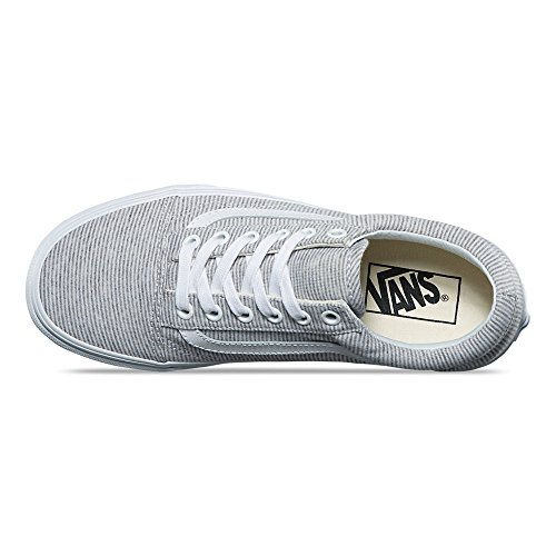 Gris Baskets Vans Femme Jersey Old Skool x0w8IZ