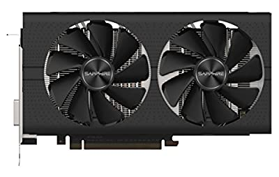 Sapphire 11265-05-20G Radeon Pulse RX 580 8GB GDDR5 Dual HDMI / DVI-D / Dual DP OC with Backplate (UEFI) PCI-E Graphics Card Graphic Cards