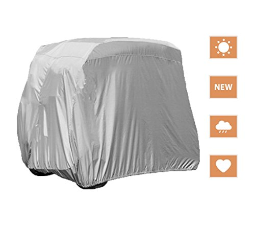 RockyMRanger Golf Cart Cover Universal Electric / Gas Golf Cars Storage Water Proof (L110