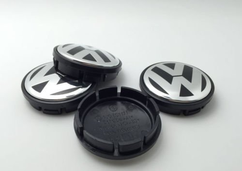 AOWIFT 4 pcs 65mm Wheel Center Cap Hub Cover for VW Volkswagen Golf GTI PASSAT JETTA by AOWIFT (Image #3)