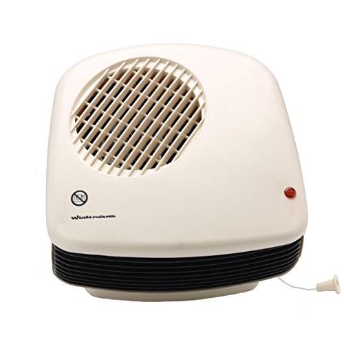Winterwarm 2 KW Wall Mounted Downflow Bathroom Fan Heater 13.5 x 23.5 x 24 cm