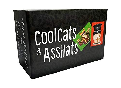 Halloween Party Games Adults Alcohol (CoolCats & AssHats - The Funnest Adult Party / Drinking Card)