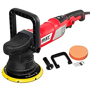 Goplus 6 Inch Variable Speed Sander All-in-One Polisher Dual-Action Random Orbital Kit, 950W, 2000-4800RPM, Waxer…