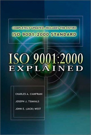 Iso 9001: 2000 – an Audio Workshop And Master Slide Presentation, Second Edition: Cd Version by Asq Pr