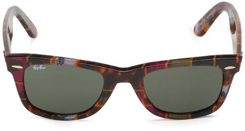 Subway Ban Gafas Ehite Crystal Green de Multicolor Wayfarer sol Ray d4qxnYwvPY