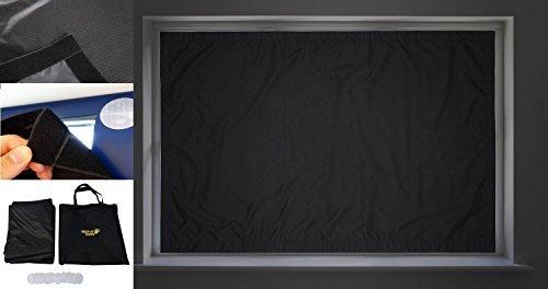 Blackout Buddy - Portable Blackout Blinds Curtain for Home, Nursery & Travel (Regular 39' x 47')