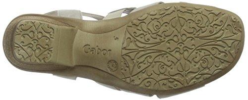 beige Con Beige Gabor Zeppa Fashion Donna 12 Sandali 61wz8EqY
