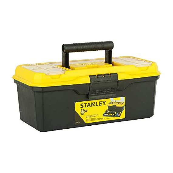 STANLEY 1-71-948 13'' Organised Maestro Tool Box with Clear top lid 1
