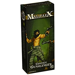 Wyrd Miniatures Malifaux Outcast Convict Gunslinger Model Kit (2 Pack)