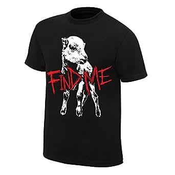 "Official WWE Authentic Men's Bray Wyatt ""Find Me"" T-Shirt XXX-Large Black"