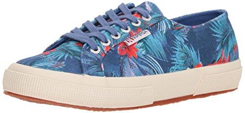 Superga Women 2750 Maufloralw Sneaker Blue/Multi