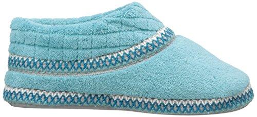 Muk Luks Womens Rita Micro Ciniglia Pantofole A Piede Pieno Pioggia