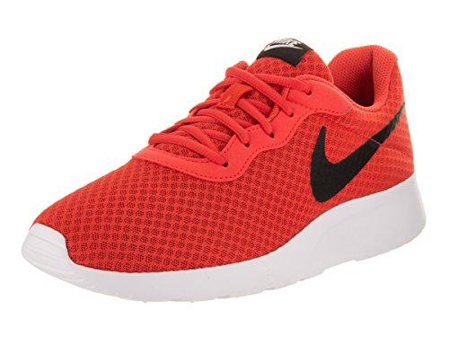 Zapatillas De Deporte Nike Tanjun Hombres, Parte Superior Textil Transpirable Y Cómodo De Naranja Amortiguación Ligera Max / Negro / Blanco