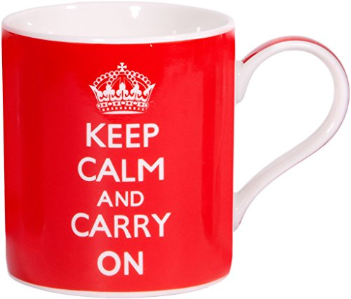 Keep Calm Carry White Ceramic product image