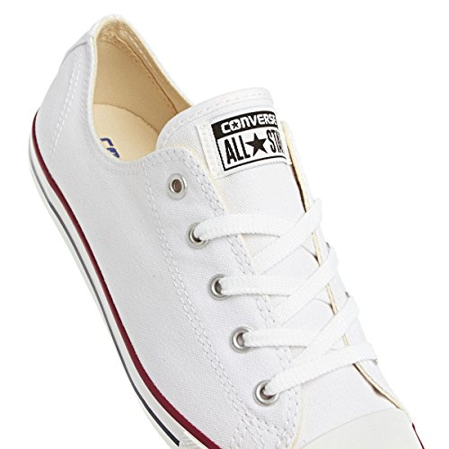 Converse All Star Sneakers Da Donna Di Bue Bianca Bianca