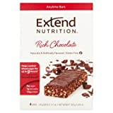 ExtendBar Chocolate Delight Snack Bars, 1.41ozx4-Pack ( total 5.64 oz)