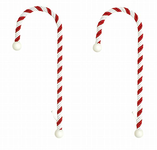 (Haute Decor Candy Cane Stocking Holder - Holds Up to 10 Lbs 2-Pack)