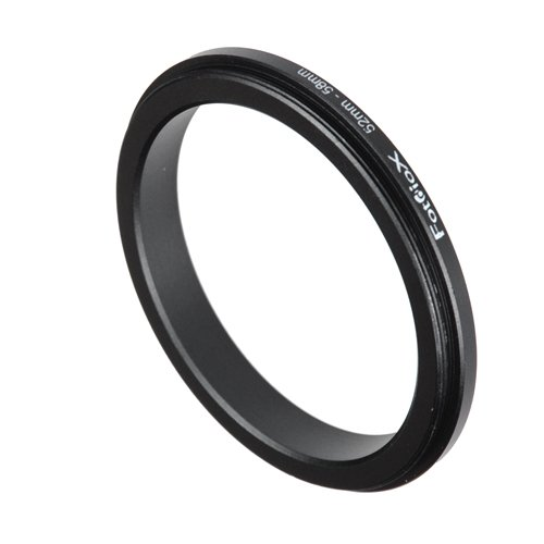 (Fotodiox 52-58mm Macro Close-up Reverse Ring for Nikon, Canon, Sony, Olympus, Pentax, Panasonic and Samsung Camera)
