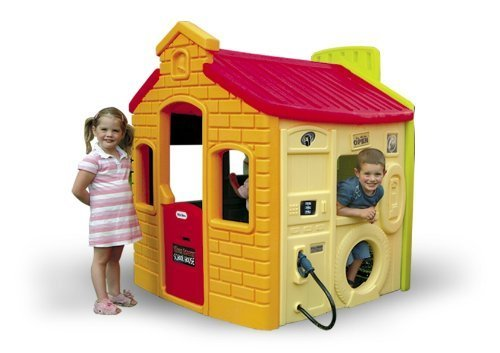 Little Tikes 444C00060 Spielhaus 4 - in - 1 bunt