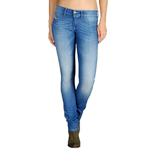 Diesel Women's Livier Flare Pant 0661E Jeans (28 x 32', (Diesel Flare Jeans)