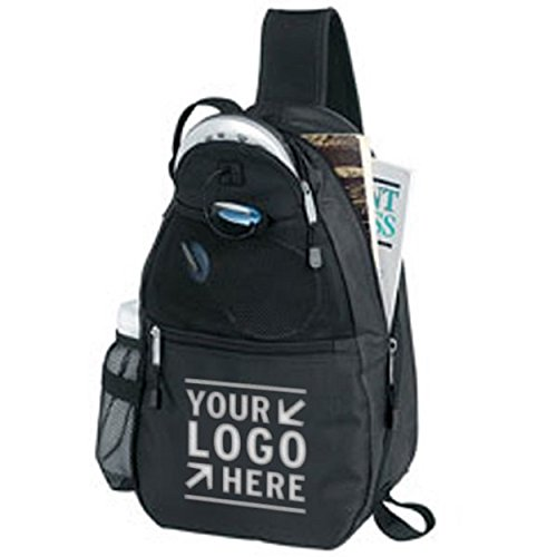 25 Personalized Solo Sporty Backpack Printed with Your Logo or Message by Ummah Promotions