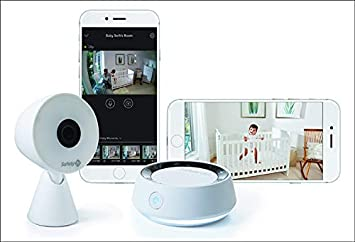 1c6dbcd3cd889 Amazon.com   Safety 1st HD Wi-Fi Baby Monitor Camera with Sound- and  Movement-Detecting Audio Unit   Baby