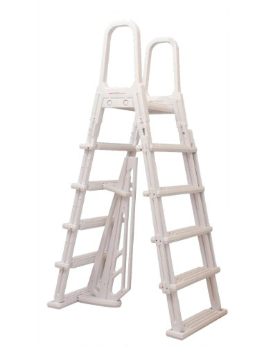 Blue Wave NE1222 A-Frame Flip Up Ladder for Above Ground Pools by Blue Wave