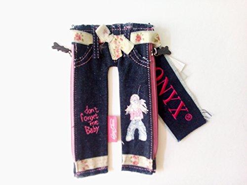 Ufficio Fai Da Te Jeans : Onyx portaoggetti astuccio portatrucco in jeans forma pantalone