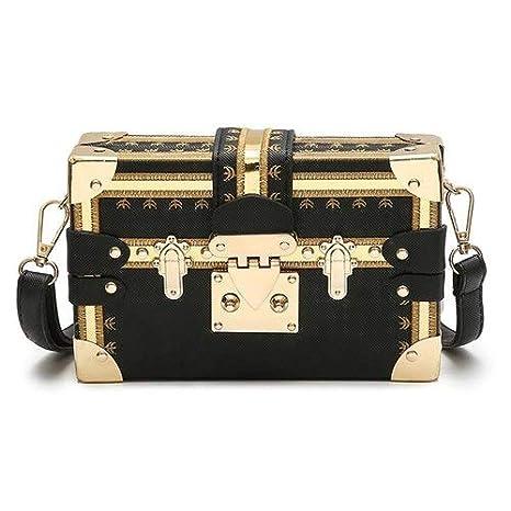 Amazon.com: Women Box Bag Small Square Louis Bags Design ...