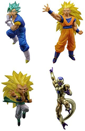 (Gashapon Dragon Ball Super Vs Dragon Ball 03 Set)