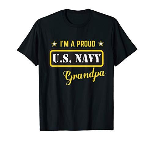 - I'm A Proud Navy Grandpa T-shirt