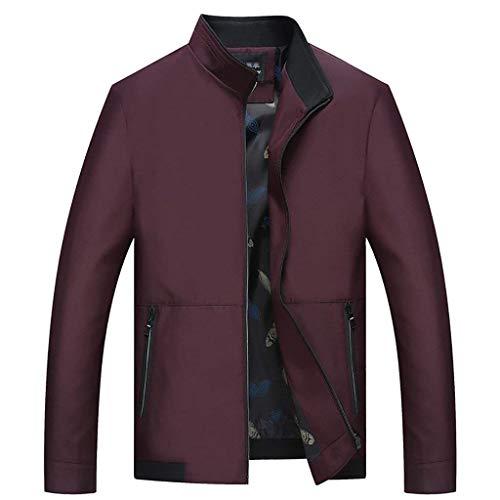 Della Uomini Allentato Di Abbigliamento Casuale Di Outwear Medie Compresa Huixin Gli Cappotto Winered Età Tra Affari Colletto Giacca qx6Y6HEz