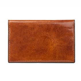 Bosca Mens Old Leather Calling Card Case