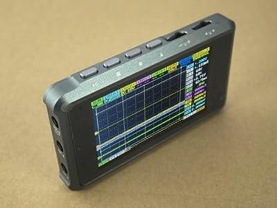 DSO Quad - 4 Channel Digital Storage Oscilloscope Silver Aluminum Alloy