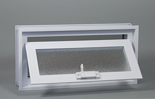 Crawl Space Vent (White) - for 16' W x 8' H Foundation Openings